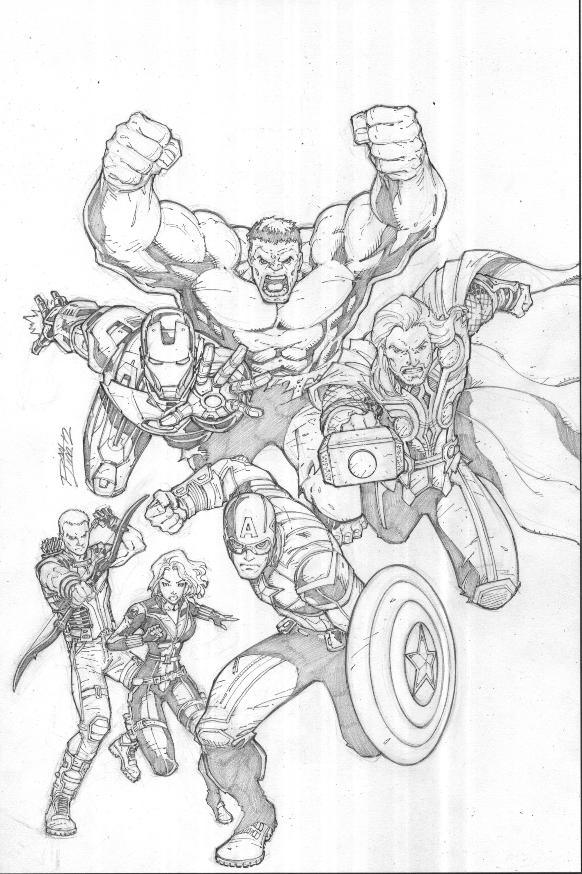 Avengers-Disney Cover