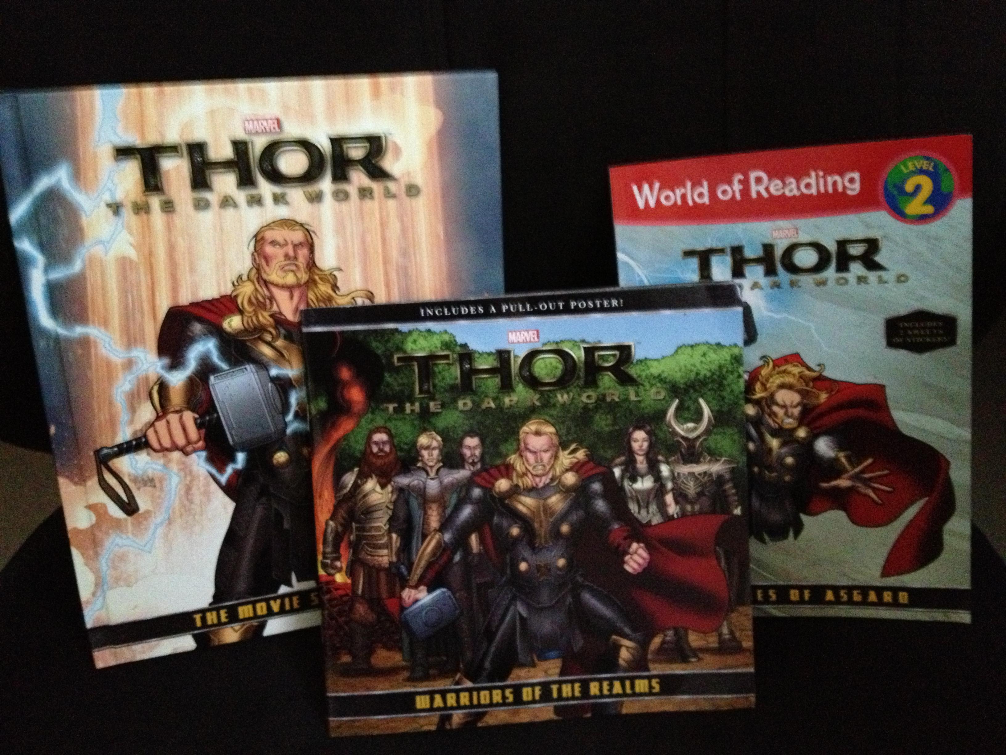 New Books for Thor The Dark World